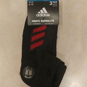 🆕 Adidas 3 pairs of lightweight socks  🆕